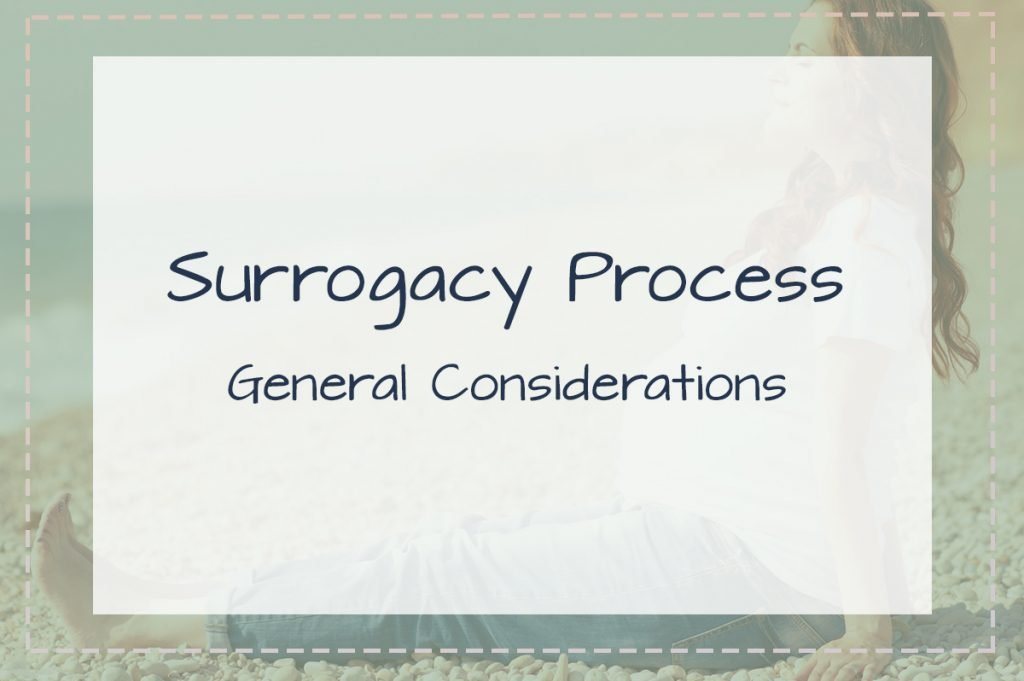 Birth and Surrogacy Process General Considerations