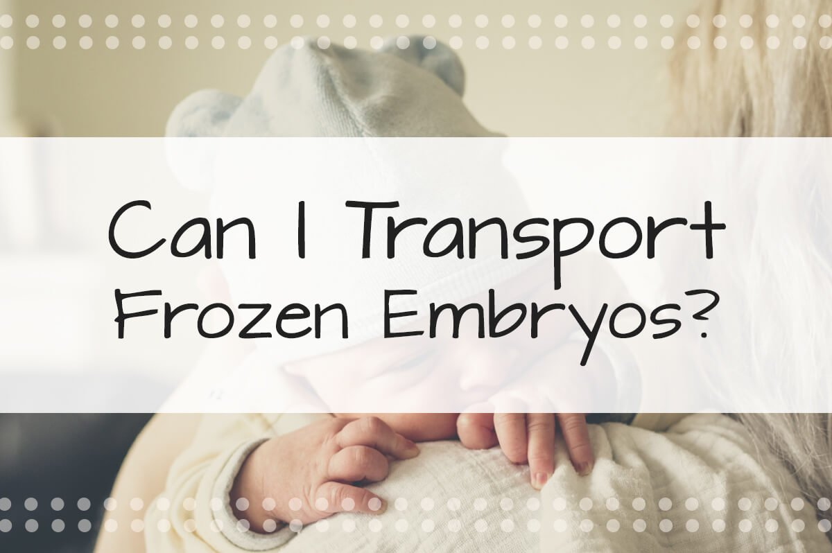 Can I Transport Frozen Embryos? Frozen Embryos—The Ins and Outs of Transporting Biological Material for the IVF Process