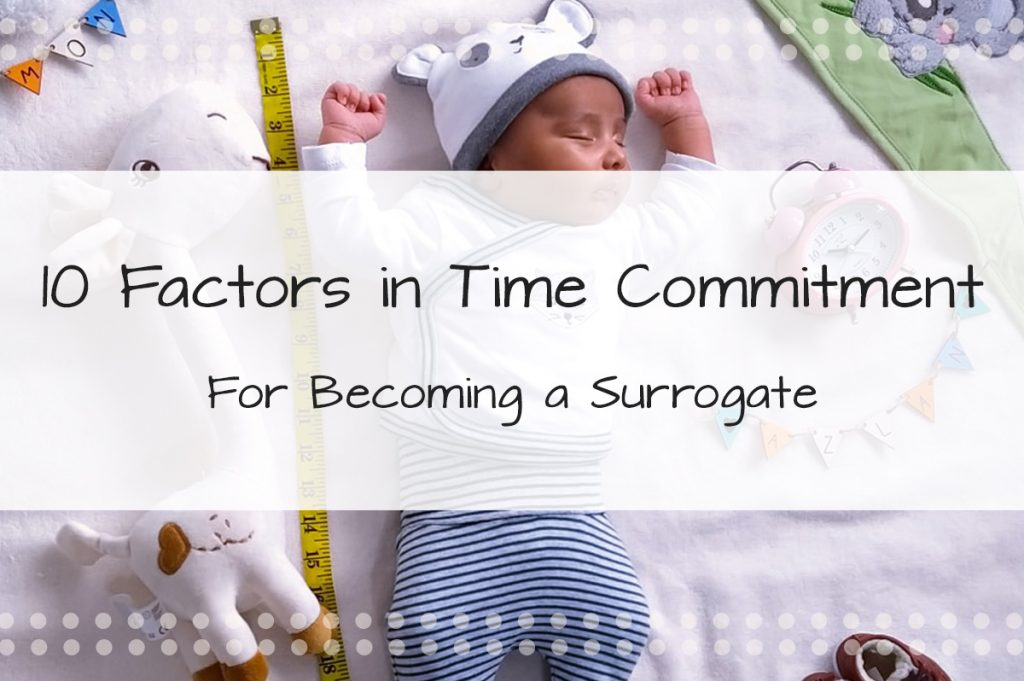 10 Factors In Time Commitment To Consider When Deciding on Becoming a Surrogate - Made in the USA Surrogacy in Roseville, California